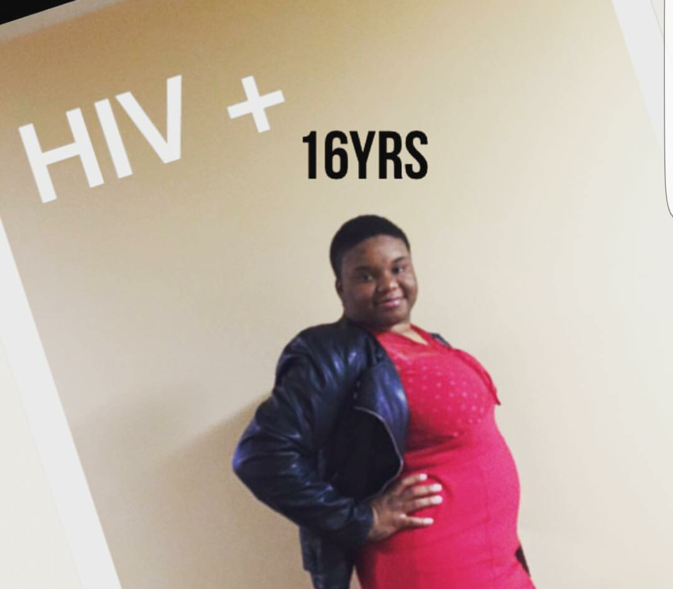 LeSherri is proud of thriving with HIV for 16 years