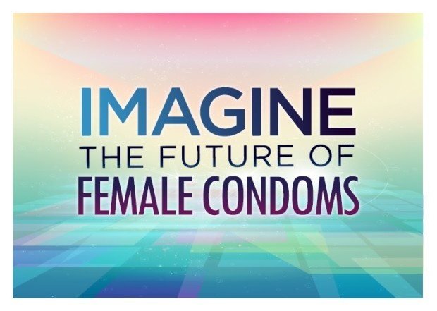 Imagine the Future of Female Condoms Logo